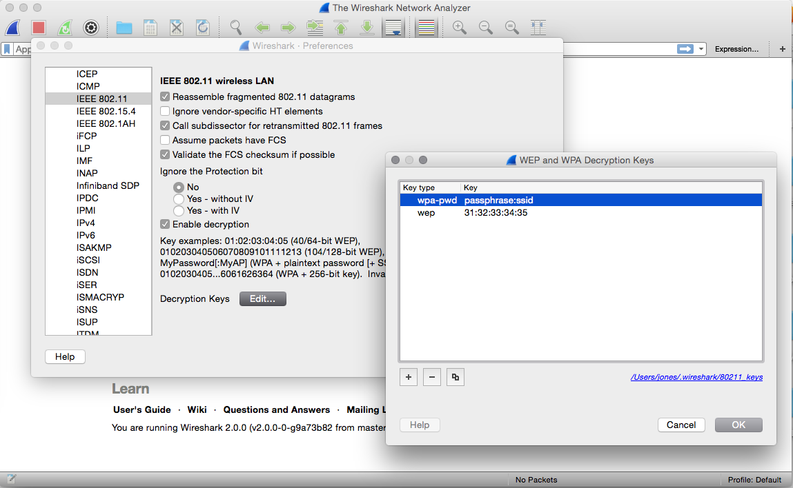 Adventurist me: Attacking Wifi with Wireshark