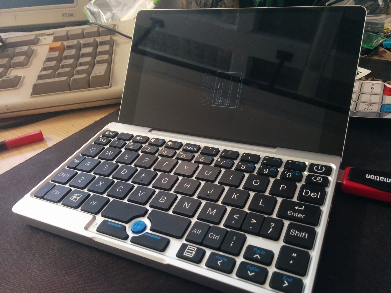 GPD Pocket FreeBSD bootsplash
